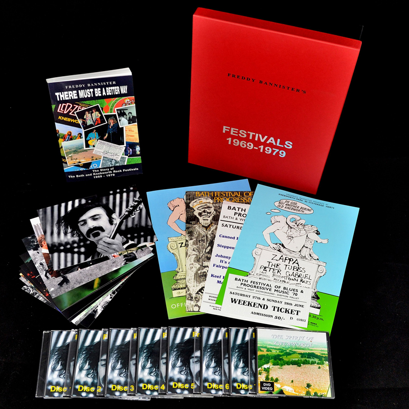 1970-78 Frank Zappa UK appearances commemorative set